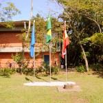 bandeiras da UFSC, Brasil e SC